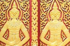 Siamesische Kunst lizenzfreie stockbilder