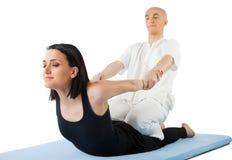 Siamesische Massage Lizenzfreie Stockbilder