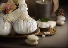 Siamesische Massage stockfotos