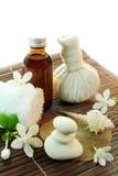 Siamesische Massage. Stockbild