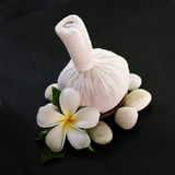 Siamesische Massageprodukte Lizenzfreie Stockbilder