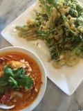 Siamesische Nahrung - Stirfischrogen #6 Lizenzfreies Stockbild