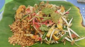 Siamesische Nahrung - Stirfischrogen #6 Stockfotografie