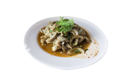 Siamesische Nahrung - Stirfischrogen #6 Lizenzfreie Stockfotos