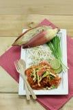 Siamesische Nahrung - Stirfischrogen #6 lizenzfreies stockfoto