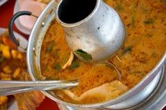 Siamesische Nahrung - tomyam kung lizenzfreies stockfoto