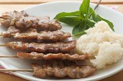 Siamesische Nahrungsmittel Lizenzfreies Stockbild