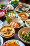 Siamesische Nahrungsmittel Stockfoto