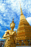 Siamesische Palastgottheit königlicher Tempel Lizenzfreies Stockfoto