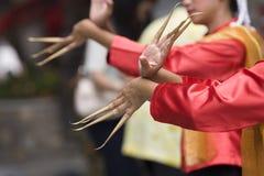 Siamesische Tanzleistung Lizenzfreie Stockfotografie
