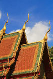 Siamesische Tempelkunst Stockbilder