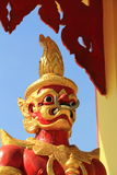 Siamesische Tempelkunst Lizenzfreies Stockfoto