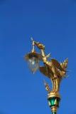 Siamesische Tempelkunst Stockfoto
