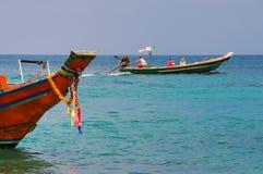 Siamesische touristische Motorboote Lizenzfreie Stockbilder