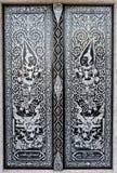 Siamesischer Anstrich im Tempel Stockfotos