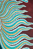 Siamesischer Artkunstanstrich. Lizenzfreie Stockfotos