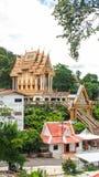 Siamesischer buddhistischer Tempel Stockbilder