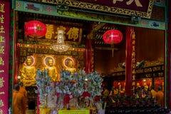 Siamesischer buddhistischer Tempel Lizenzfreies Stockbild