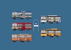 Siamesischer Bus Stockfoto