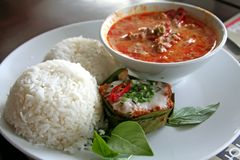 Siamesischer Curry Stockfotos