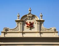 Siamesischer Dämon im großartigen Palast stockfoto