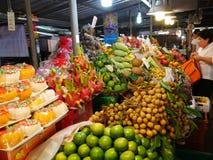 Siamesischer Frucht-Markt lizenzfreies stockbild