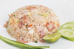 Siamesischer gebratener Reis Lizenzfreie Stockfotografie