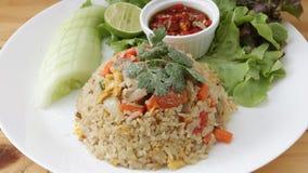 Siamesischer gebratener Reis stockbild