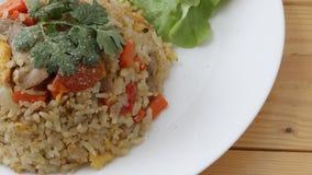 Siamesischer gebratener Reis lizenzfreie stockbilder