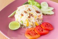 Siamesischer gebratener Reis lizenzfreie stockfotos