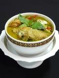 Siamesischer grüner Curry mit Huhn Stockfoto