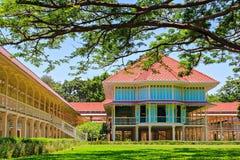 Siamesischer königlicher Sommerpalast, Hua Hin, Thailand Lizenzfreie Stockfotografie