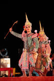 Siamesischer klassischer Tanz lizenzfreies stockbild