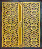Siamesischer Kunstanstrich auf dem Tempelfenster. Lizenzfreies Stockfoto