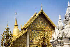 Siamesischer Lanna Tempel Lizenzfreies Stockfoto