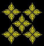 Siamesischer Musterhintergrund stock abbildung