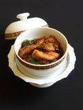 Siamesischer roter Curry mit Huhn Lizenzfreie Stockbilder