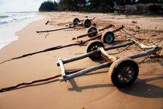 Siamesischer Strand lizenzfreie stockfotos