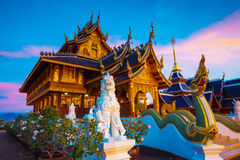 Siamesischer Tempel lizenzfreie stockbilder