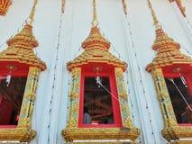 Siamesischer Tempel in Thailand Stockbild