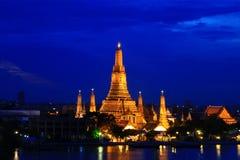 Siamesischer Tempel, Wat Arun. Lizenzfreie Stockfotos