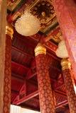 Siamesischer traditioneller Innenraum Stockfoto