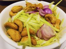 Siamesischer würziger Salat stockbilder