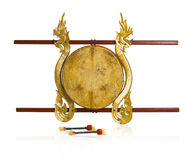 Siamesisches altes Trommelmusikinstrument Stockfotografie