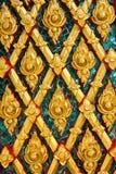 Siamesisches Auslegung-Muster Lizenzfreie Stockbilder