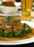 Siamesisches Curryrindfleisch stockbild