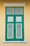 Siamesisches Fenster Lizenzfreies Stockbild
