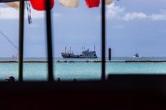Siamesisches Fischerboot Lizenzfreie Stockfotos
