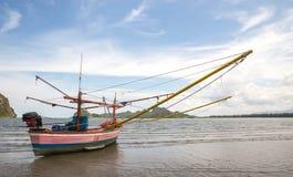 Siamesisches Fischerboot lizenzfreie stockbilder