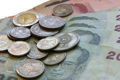 Siamesisches Geld Stockbild